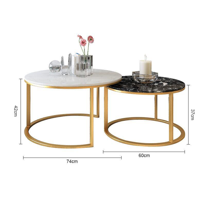 kích thước bàn trà tròn