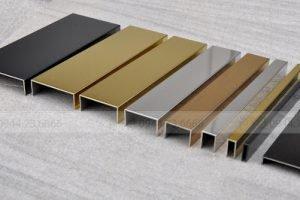 Nẹp Inox Mạ vàng PVD – Điểm nhấn trong nội thất nhà bạn
