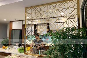 Xu hướng mới – vách ngăn phòng bếp mạ pvd