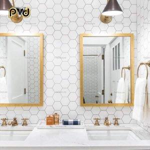 gương hình chữ nhật, gương treo tường hình chữ nhật, gương nhà tắm hình chữ nhật, gương mặt hình chữ nhật, gương soi hình chữ nhật, gương trang điểm để bàn hình chữ nhật, gương hình chữ nhật inox mạ vàng