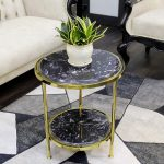 Top 10 Mẫu Side Table Decor Inox Mạ Vàng Hot Nhất 2021