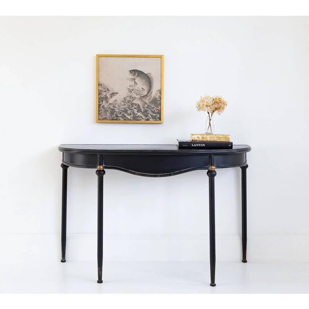 bàn console gỗ sồi