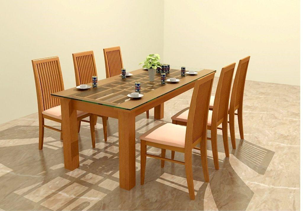 kích thước bàn ăn theo phong thủy