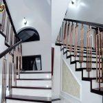 10 Mẫu vách ngăn bậc tam cấp cầu thang đẹp năm 2021
