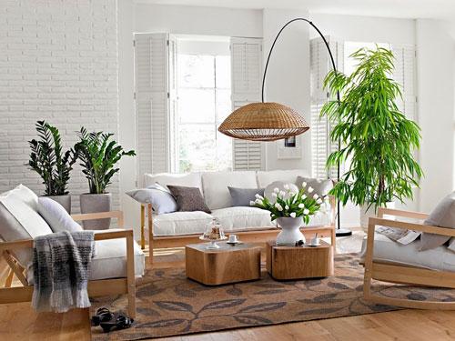 cách bố trí không gian trong nhà