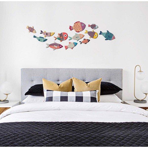 trang trí phòng ngủ nhỏ bằng đồ handmade