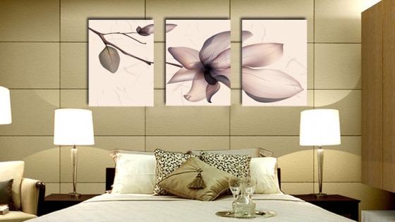 Tranh treo tường trang trí phòng ngủ