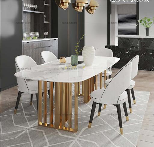 bàn tròn 4 ghế