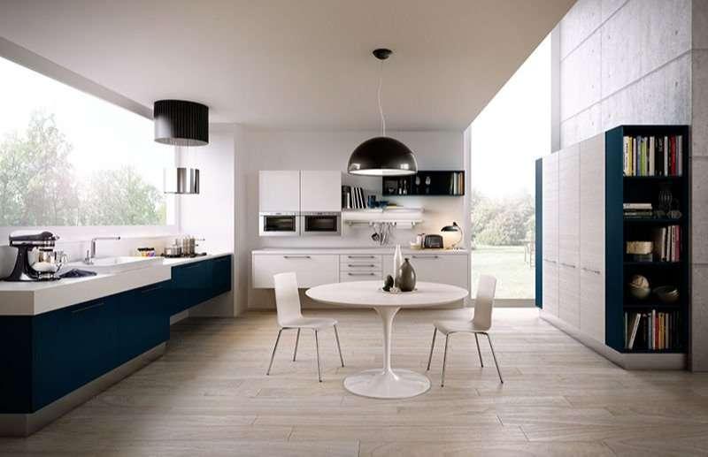 mẫu phòng bếp hiện đại nhà cấp 4