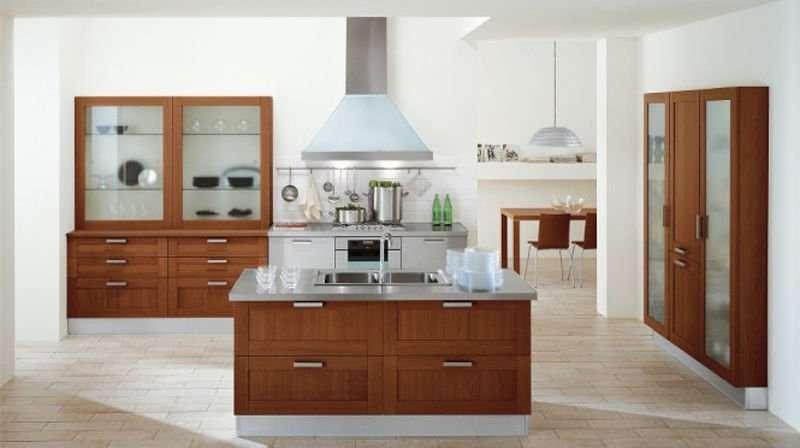 mẫu phòng bếp nhà cấp 4