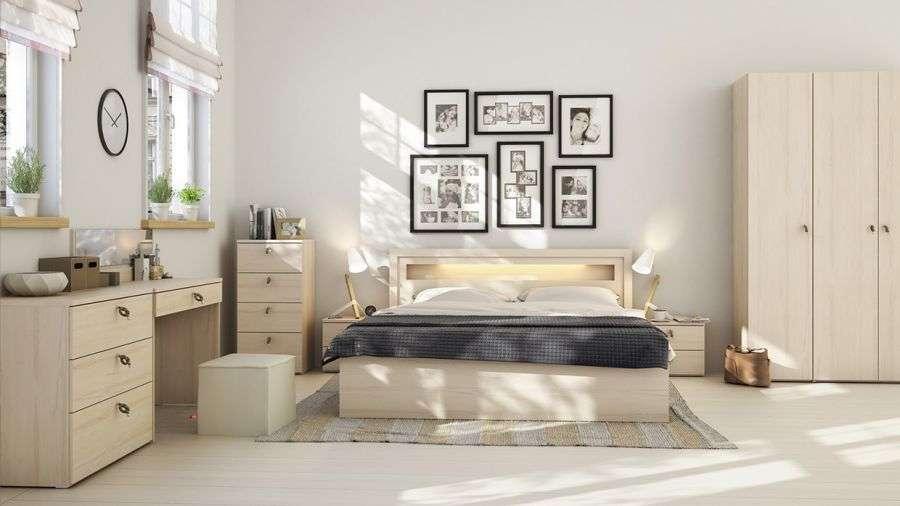 mẫu phòng ngủ hiện đại nhà cấp 4