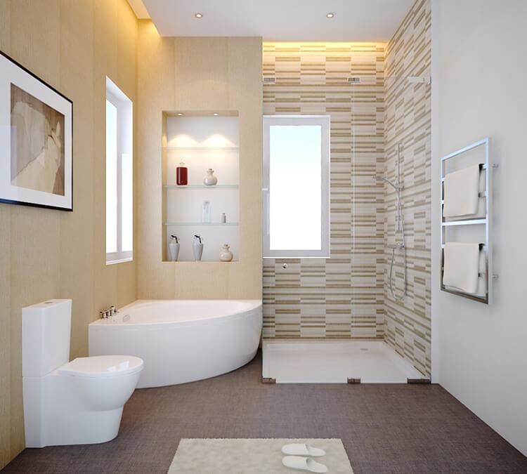 nội thất phòng tắm nhà cấp 4
