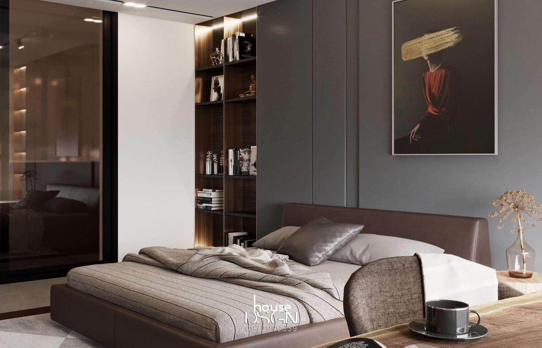 phong cách hiện đại phòng ngủ
