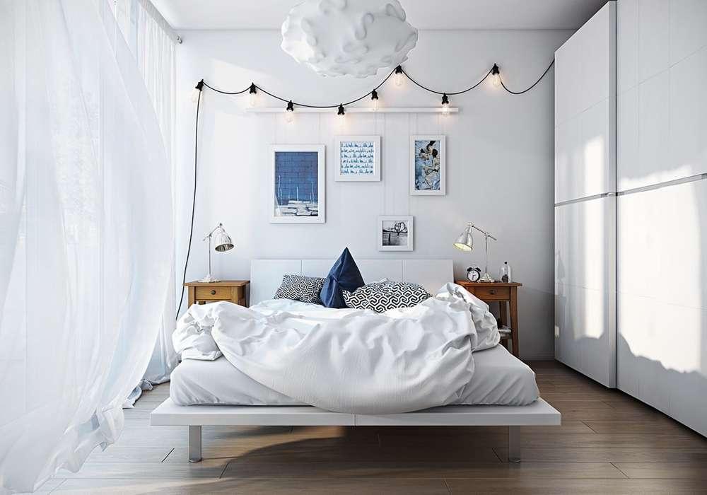 phòng ngủ phong cách đơn giản