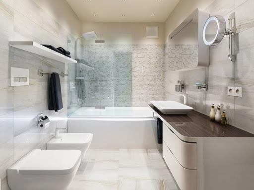 phòng tắm nhà cấp 4 hiện đại
