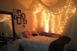 6+ Vị Trí Trang Trí Đèn Nhấp Nháy Trong Phòng Ngủ