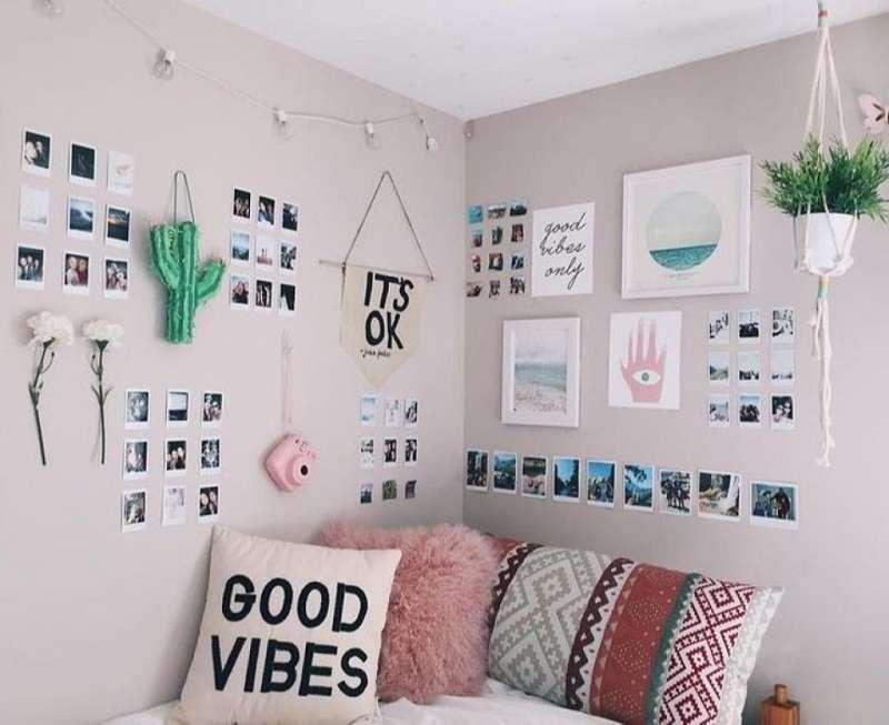 Trang trí phòng ngủ với đồ Handmade