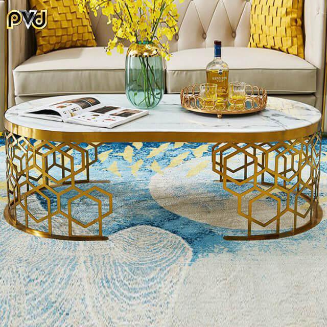 bàn sofa mặt đá cao cấp