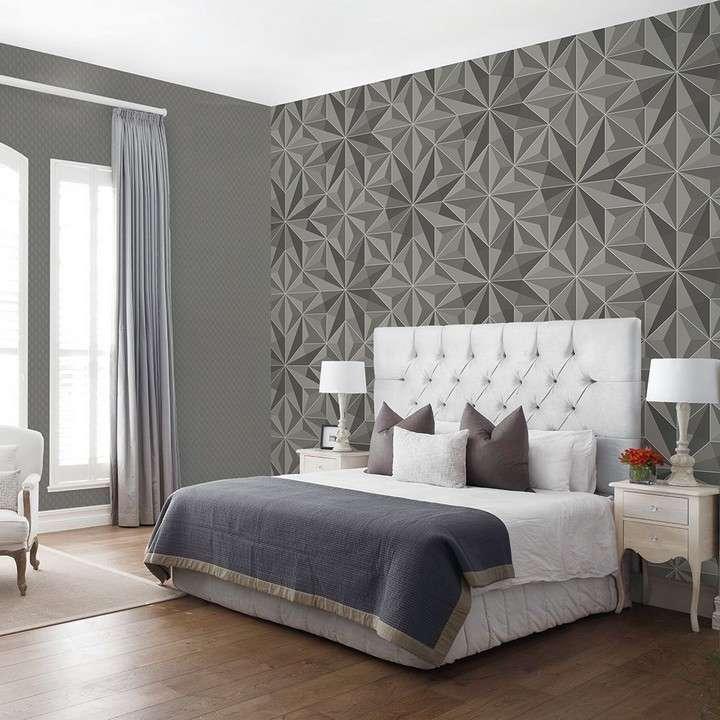 giấy xống dán tường trang trí phòng ngủ