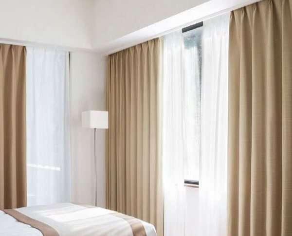 rèm cửa trang trí phòng ngủ