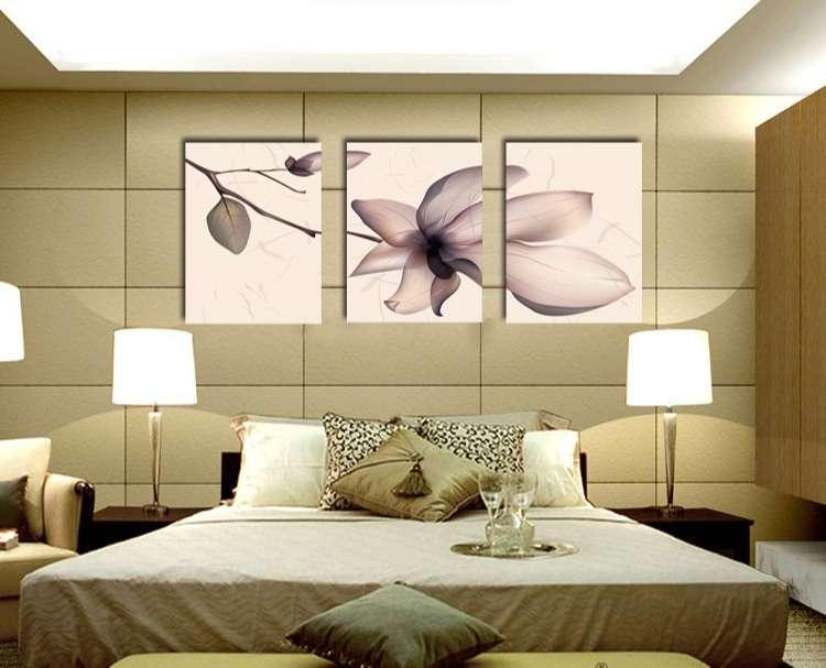 trang trí phòng ngủ với tranh treo tường