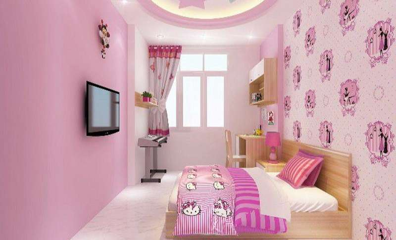 trang trí phòng ngủ đẹp cho bé gái