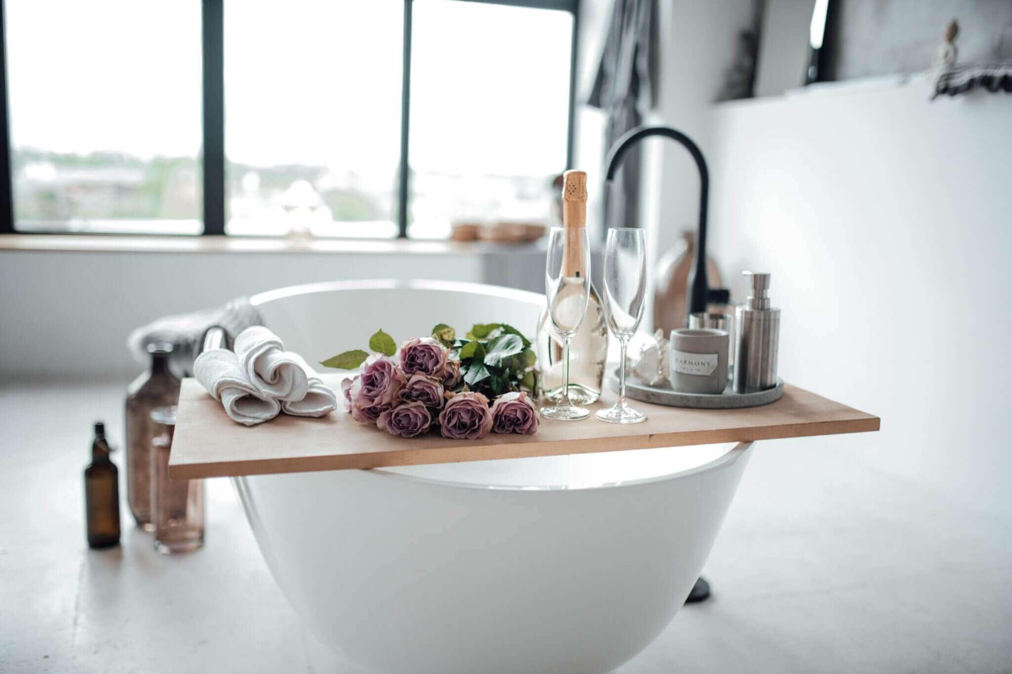 Các tính năng phòng tắm giống như spa