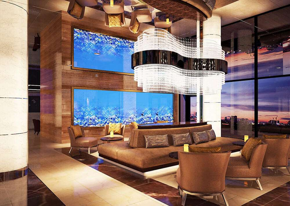 Thiết kế Không gian chung trong khách sạn