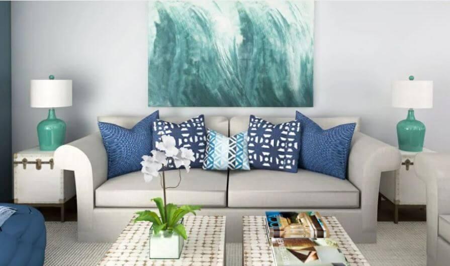 nội thất phong cách coastal