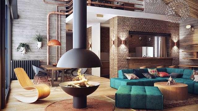 phong cách kiến trúc loft