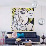 Tìm Hiểu Đặc Trưng Phong Cách Nội Thất Pop Art
