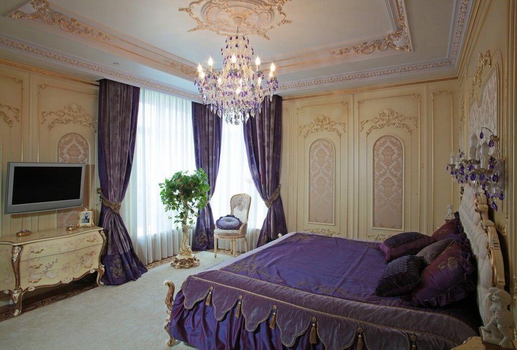 phòng ngủ nội thất baroque