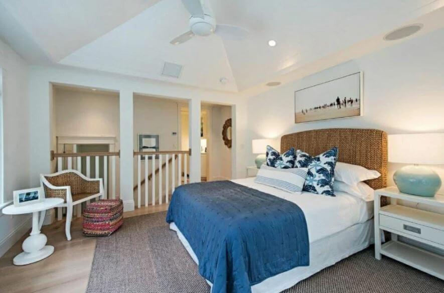 phong ngủ nội thất ven biển