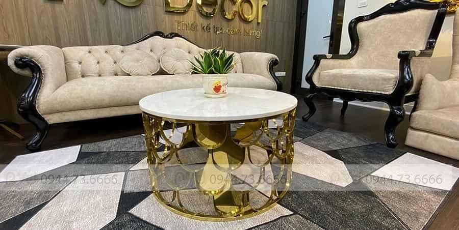 bàn sofa tròn