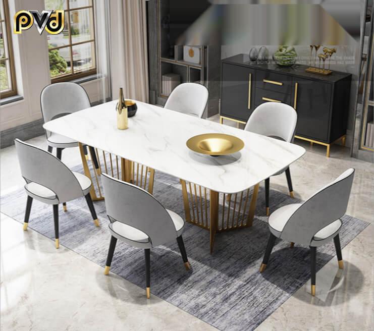 bàn ăn 6 ghế đẹp