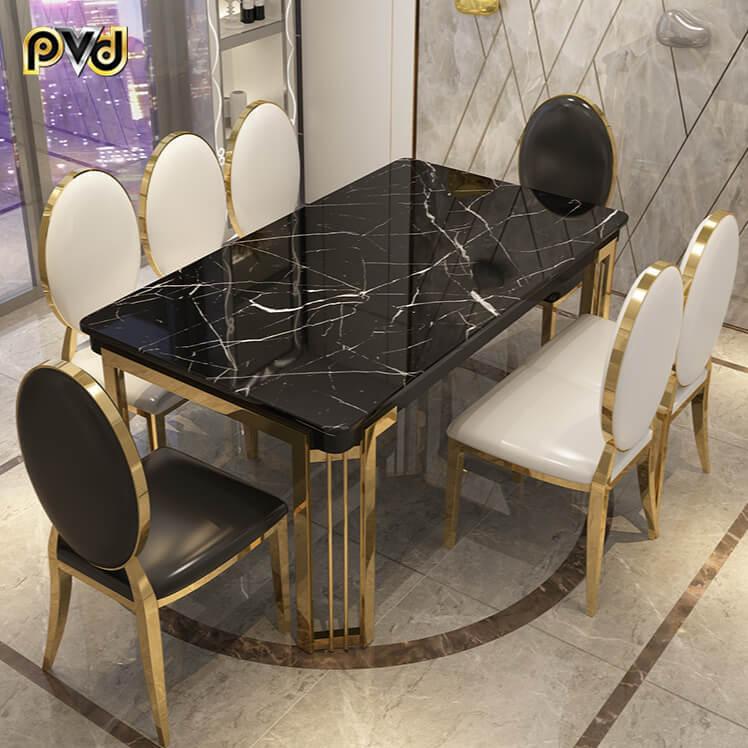 bộ bàn ăn 8 ghế cao cấp