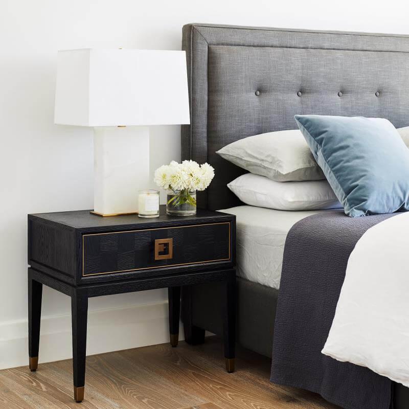 táp đầu giường gỗ sồi